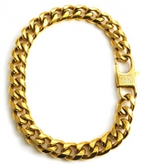 Gold Filled 14kt Diamond cut Cuban Link Chain Bracelets 9MM With A Warranty Of A Lifetime USA Made! (9)