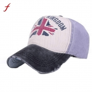 2017 Hot Sale UK Flag Printed Baseball Cap Fashion Men Women Unisex Summer Shopping Duck Tongue Hat – Men's Hat Best Price