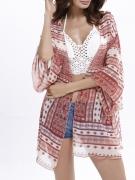 Attractive Loose Bohemian Chiffon Kimono