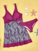 Awesome Sweet Heart Printed Swimwear