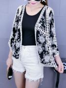 Crochet  Hollow Out Kimono