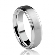 Jstyle Jewelry Tungsten Rings for Men Wedding Band Black Ring 8mm … (10)