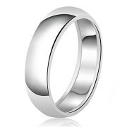 Men's Fancy Designer Diamond Cut Wedding Band .925 Sterling Silver – Size 10