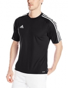 adidas Men's Badge of Sport Graphic Tee, White/Black, Medium