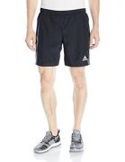 adidas Men's Sequencials Run Shorts, Black, Medium/7″ Inseam
