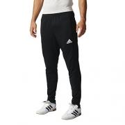 adidas Men's Soccer Tiro 17 Pants, Small, Black/White