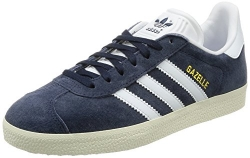 adidas originals Women's Gazelle Women's Blue Leather Trainer In Size 6.5 US (5 UK/38 EU) Blue