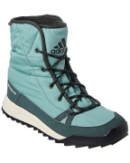 adidas Outdoor Women's Cw Choleah Insulated Cp Snow Boot, Vapour Steel/Utility Ivy/Black, 9.5 M US.