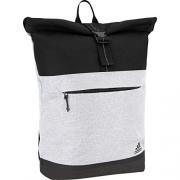 adidas Sport ID Backpack, Heather Grey/Black, One Size