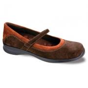 Aetrex Women's Julia Orthotic Shoes,Grey,8.5 XW US.
