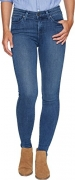 Agave Denim Women's Rosie Stone Straight Fit Jeans in Medium Fade Medium Fade Jeans.