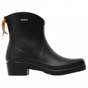 Aigle Womens Miss Juliette Bottillon Black Rubber Boots EU 39.