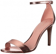 Aldo Women's Cardross Dress Sandal, Metallic Miscellaneous, 7.5 B US.