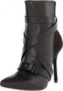 alice + olivia Women's Dustin Zip Boots, Multi/Black, 38.5 EU (8.5 B(M) US Women).