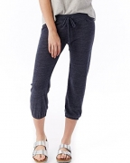 Alternative Women's Crop Pant, Eco True Navy, X-Large – Women's Capris Best Price
