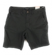 American Eagle Men's Extreme Flex Classic Flat Front Short 6374 (32 001 Black)