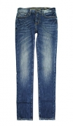 American Eagle Men's Slim Straight Jean 3855 (Medium Vintage Wash) (28×28)