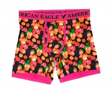 American Eagle Men's Trunk 6″ (Small, Multicolor Dot C21)