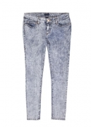 ANA Womens Boot Cut Jeans Denim Embellished Pocket Bootleg Pants Waist 29.