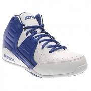 AND 1 Men's Rocket 4.0 Basketball Shoe, White/Royal White, 13 M US.