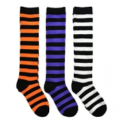 Women's Fun Colorful Crew Sock 6 Packs (Halloween (Pack 2)).
