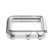 42mm Apple Watch Case, X-Doria Defense Edge Premium Aluminum & TPU Bumper Frame (Silver White) – Compatible with Apple Watch