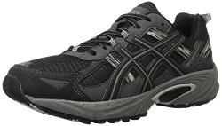 ASICS Men's Gel Venture 5 Running Shoe, Black/Onyx/Charcoal, 11 4E US.