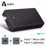 AUKEY 30000mAh Power Bank Quick Charge 3.0 Dual USB Powerbank External Battery QC3.0 fast charge Portable Power Bank