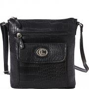 Aurielle-Carryland Crocodile Dundee Mini bag (Black).