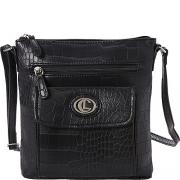 Aurielle-Carryland Crocodile Dundee Mini bag (Black).