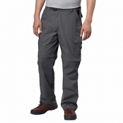 BC Clothing Mens Convertible Lightweight Comfort Stretch Cargo Pants or Shorts (Mx34, Charcoal) – mens cargo pants with zip off legs