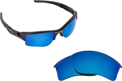 Best SEEK Replacement Lenses Oakley FLAK JACKET XLJ – Polarized Blue Mirror