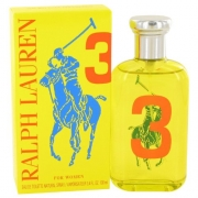 Big Pony Yellow 3 By Ralph Lauren For Women Eau De Toilette Spray 3.4 oz