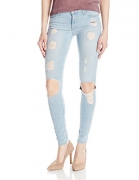 Black Orchid Women's Jude Crop Jean, Smoke Em, 29.