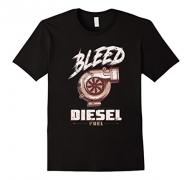 Mens Diesel Brothers Go Hard Go Diesel Skull Cross Wrench T-Shirt XL Asphalt