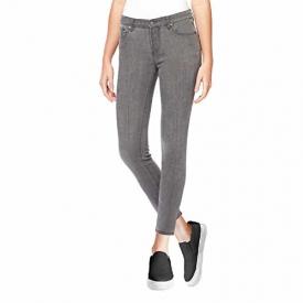 Buffalo David Bitton Womens Hope Mid Rise Stretch Skinny Jean, Black, Size 8/29.
