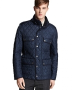 Burberry Brit Russell Diamond Quilted Jacket (XXL, Navy)