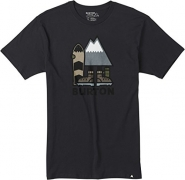Burton Men's Rip ton Short Sleeve T-Shirt, Phantom, Large.
