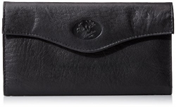 Buxton Heiress French Purse Wallet, Coral.