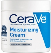 CeraVe Moisturizing Cream 16 oz Daily Face and Body Moisturizer for Dry Skin.
