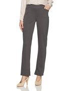 Rafaella Women's Petite Curvy Fit Gabardine Trouser, Black, 10 Petite – Women's Capris Best Price