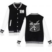 Classic Japan Anime Baseball Jacket Capless