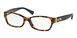 COACH Eyeglasses HC 6078 5337 Teal Confetti/Teal 52MM