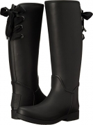 COACH Women's Tristee Black/Black Solid Matte Boot