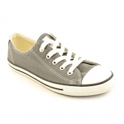 Converse Womens Chuck Taylor All Star Dainty Ox Sneaker Charcoal Size 10.