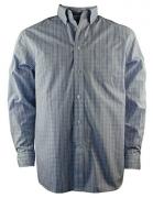 Daniel Cremieux Signature Men's Long-Sleeve Egyptian Check Print Cotton Shirt