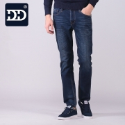 DD Famous Brand Clothing Trousers Men Jeans Cotton Brand-clothing Jeans Men Regular Fit Type Leather Brand Jeans Men