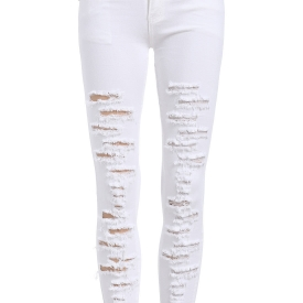 Distressed Ankle Jeans – Womens Jeans Best Price