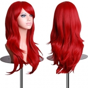 California Costumes Women's Tempting Tresses Wig,Red,One Size.