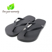 Flip-Flops beach slim Sandal for Men, Memorygou Black design comfort Proof Slippers blackUS 11